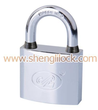 Quality CHROME PLATED ARC TYPE PADLOCK wholesale