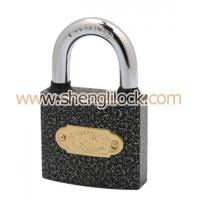 Cheap PLASTIC PAINTED IRON PADLOCK for sale