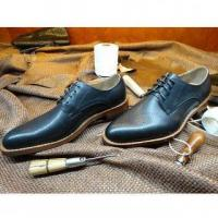 LZ03 Goodyear Handmade Leather Shoes Genuine Leather Men's Shoes