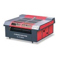 Buy cheap Automatic Leather Vamp color printing laser cutting machine from wholesalers