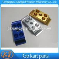 Go kart parts CNC Machined Anodized 28mm 30mm 32mm Go Kart Enigne Mount Lower Clamp