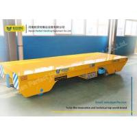 Cheap Steel Rail Towed Cable Industrial Transfer Trolley For 1-300 Ton Transportation for sale