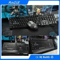 Logitech Competitive USB Wired Game Keyboard And Mouse Set