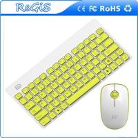 2.4G Thin Mini Wireless Logitech Keyboard And Mouse For Notbook And Pc