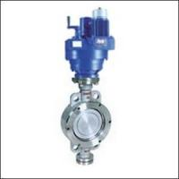 Economical ZAJWSYD Wafer Three Eccentric Electric Butterfly Valve