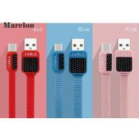V8 Micro USB Data Cable , Android Charging Cable Environmental Silicone Wire
