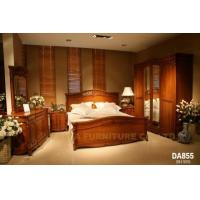 China White Wood Bedroom Furniture Da855 on sale