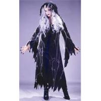 Cheap Donut Couples Costumes Adult Spider Web Gauze Ghost Costume for sale