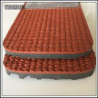 China 13mm Thick and Thin Prefabricated Rolled Rubber Flooring Outdoor Mats on sale