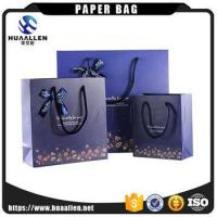2017 Custom Made Luxury Excellent Style Paper Shopping Bag Clothing Packaging