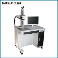 Lamp Pumped Raycus Source Optical Fiber Laser Marking Machine For Jewellery Engraving