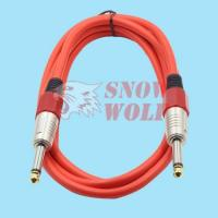 SG-0022 10 colors PVC jacket Guitar Cable