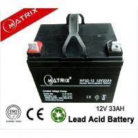 Lead-Acid Mobility Scooter Battery 12V 33AH Maintenance Free