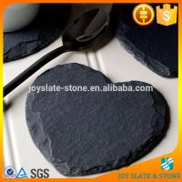 Chinese black heart wine bottle coaster/high quality wedding coasters