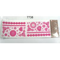 Cheap RED DECORATIVE BORDER STICKERS for sale