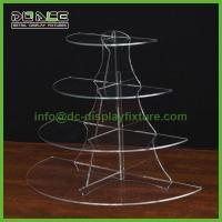 Cheap Shopfitting Systems 4-Tier 1/2 Round Riser AD-013 for sale