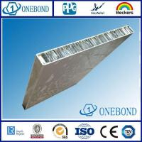 Cheap Brush Finished Aluminum Honeycomb Panel for sale
