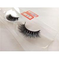 Cheap Luxury Real Mink Fur Strip Eyelashes for sale