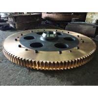Copper Alloy Worm Gear Assembled with Cast Iron Hub