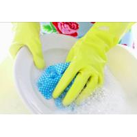 Cheap Kitchen Cleaning Household Rubber Gloves 100% Naural Latex Small, Medium, Large Size for sale
