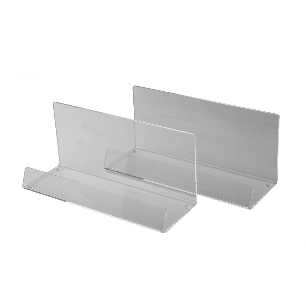 FROSTED UNBRANDED DISPLAY STAND (Pack of 2)