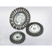 Cheap Twisted wire wheel brushTwisted wire wheel brush for sale