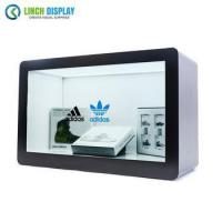 Customized 55 inch Android Network Transparent LCD Display Cabinet for Product Show