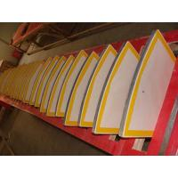 Buy cheap Fan-shaped Vacuum Ceramic Disc Filter Plate For Slurry Dewatering from wholesalers