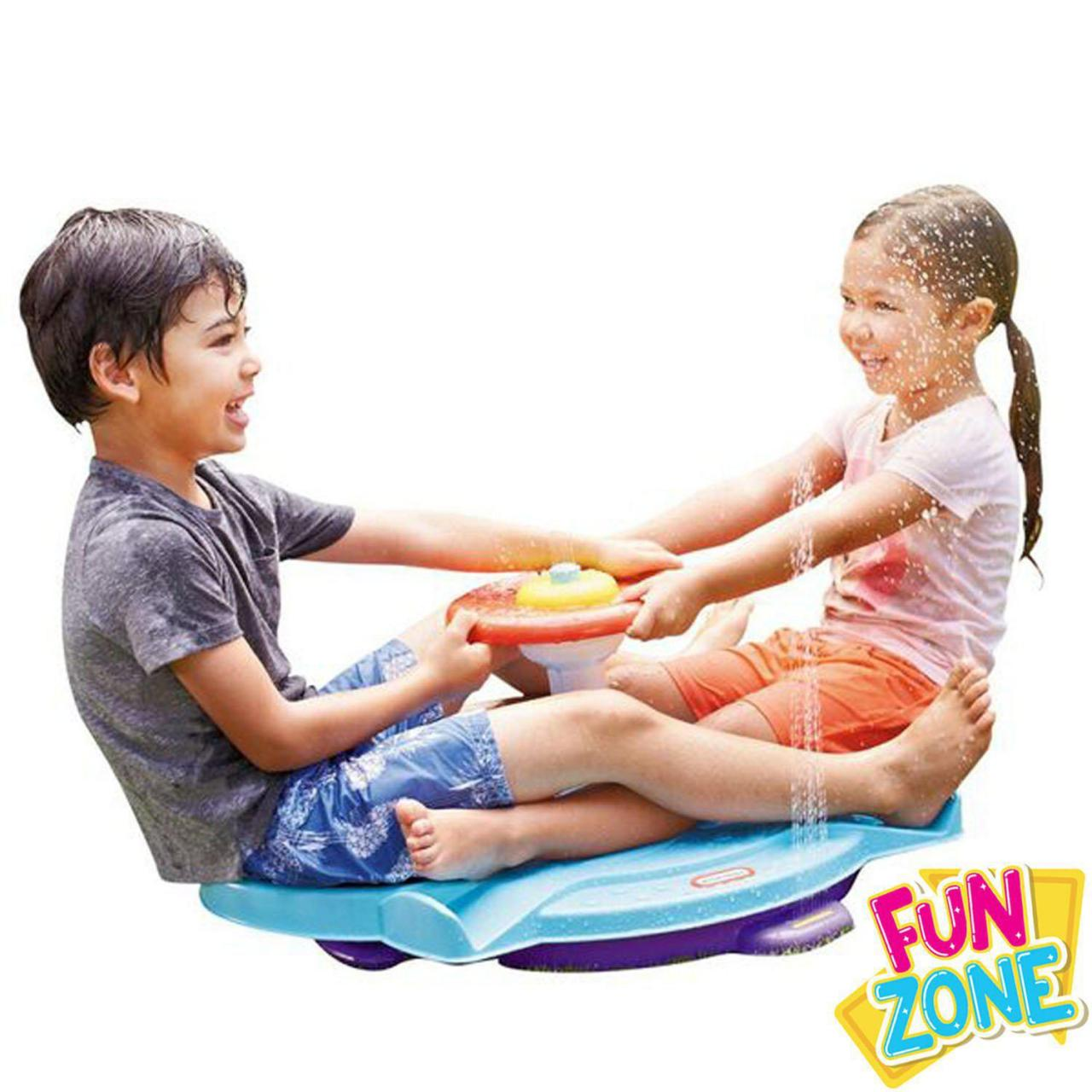 Sand and Water Play Fun Zone Dual Twister