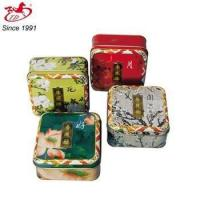 small square tin box for cake, mooncake, tea