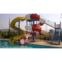 Cheap Combination of Open And Tunnel Water Slide for sale
