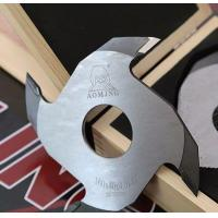 China Finger Joint Cutter Electroplated Mirror Surface Finger Jointer For Redwood Cutting on sale