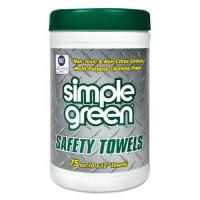 China Simple Green Safety Towels on sale