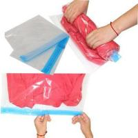 Cheap PA+PE Roll-Up Organizer save space clear storage bag for sale