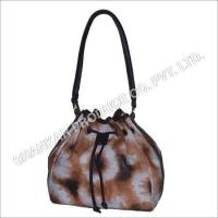 Cheap Leather Tie & Die Hand Bag for sale