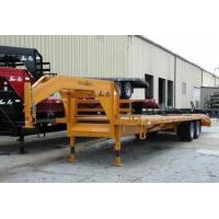 Cheap 10 Ton Tandem Dually Gooseneck Deck-Over Trailers for sale