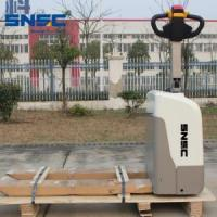 Material Handling Equipment New Walking Way 1.5ton Electric Pallet Truck