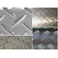 Aluminum checkered plate tread