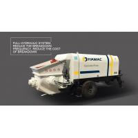 DHBT40 trailer-mounted Diesel Engine Driven Concrete Pump