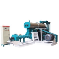 Cheap Floating fish feed extruder machine price ,single screw extruder supplier for sale