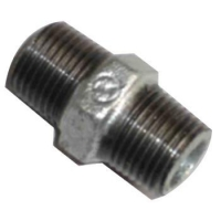 Buy cheap malleable iron pipe fitting nipple from wholesalers
