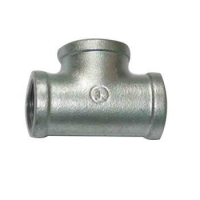Buy cheap malleable iron pipe fitting tee from wholesalers