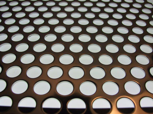 China Brass Perforated Metal