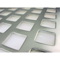 Buy cheap Square Hole Perforated Metal from wholesalers