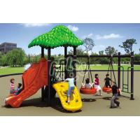 China Outdoor Playground Swing set and slide on sale