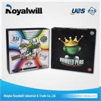 Buy cheap 2017 New Design party whirled peas OEM game 3D board game from wholesalers