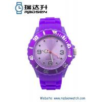 Cheap Men and Women Silicone Gift Watches Promotional Gift Rubber Watches for sale