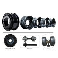 Buy cheap Forklift-Solid-Tire steel rim from wholesalers