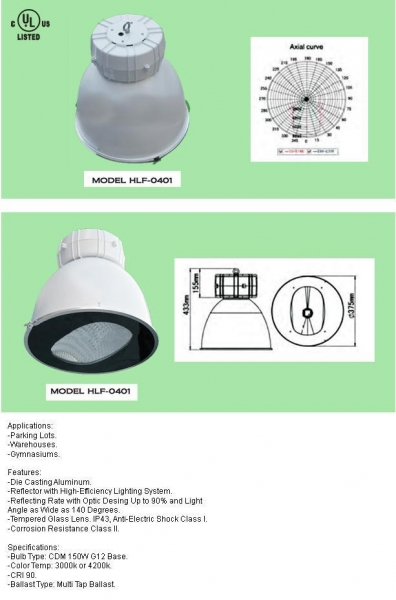 Quality High Bay/ Low Bay Fixture wholesale
