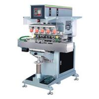 Cheap 5 color pad printing machine with inkwell for sale